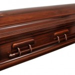 Raised LId Couch Casket